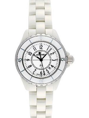 newest 02136 f3336 シャネルJ12レディース腕時計ホワイトセラミックH0968を激安価格 ...